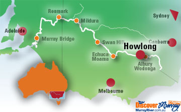 Map of Howlong