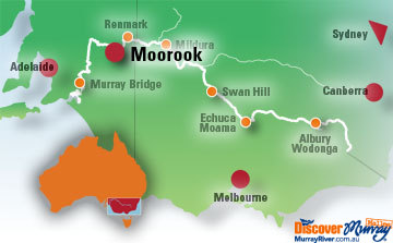 Map of Moorook
