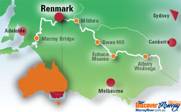 Map of Renmark