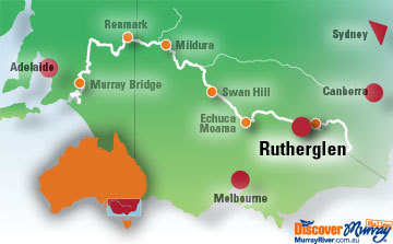 Rutherglen Map