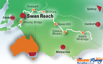 Map of Swan Reach
