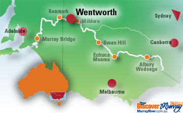 Map of Wentworth