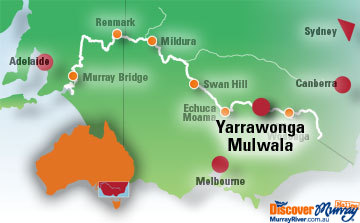Map of Mulwala