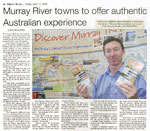 Murray River towns to offer authentic Australian experience