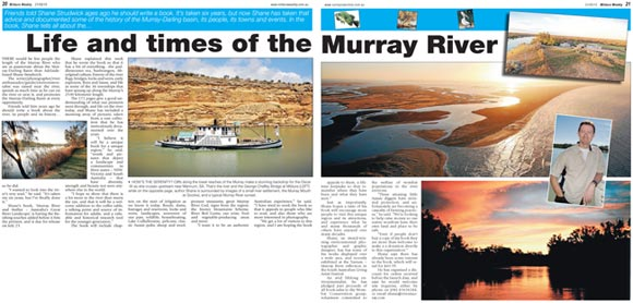 Book on the Murray River and Mallee