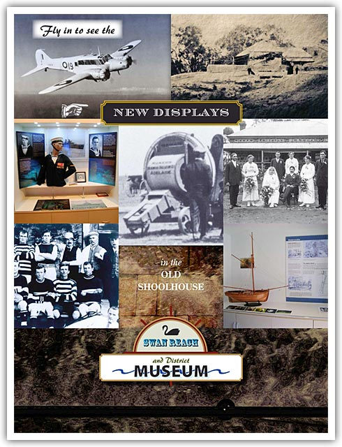 Swan Reach Museum New Displays