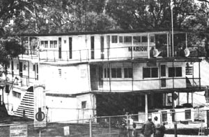 1964 to 1994. The Marion as a static museum in the Mannum Dock.