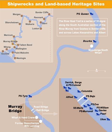 Murray Bridge map