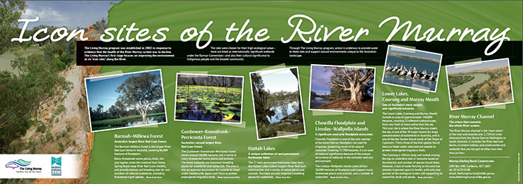 Icon sites of the Murray River
