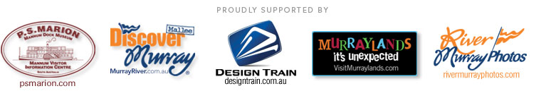 Supported by : PS Marion.com, Discover Murray, Design Train and VisitMurraylands.com