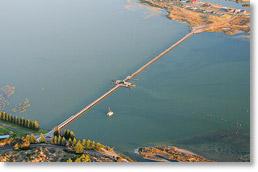 Goolwa Barrage aerial