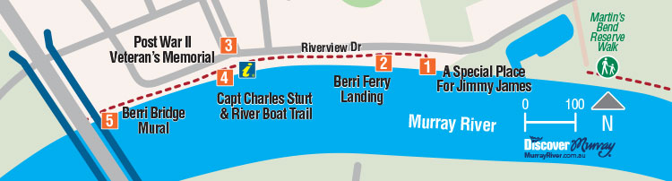 Berri Riverfront Historic Walk