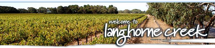 Langhorne Creek Banner Image