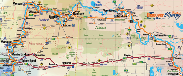 Map of the Murray Mallee region