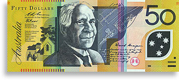 David Unaipon and Raukkan on $50 note