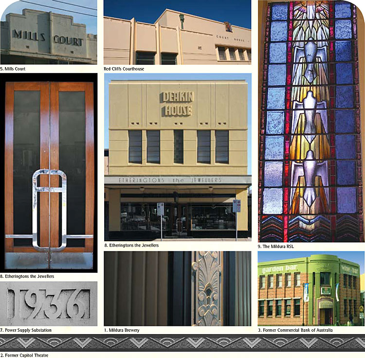 Art Deco Images of Mildura