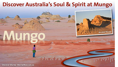 Discover Australia'a Soul and Spirit at Mungo