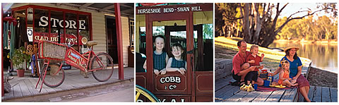 Historic sights at swan hill