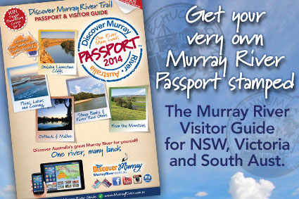 Get a copy of the Discover Murray River Passport