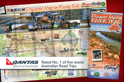 Murray Meander : Rated No. 1 of five scenic Australian Road Trips
