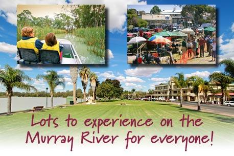 South Australian Murray River Map
