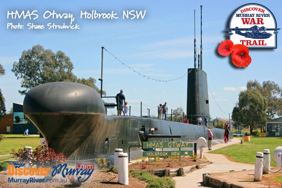HMAS Otway in Holbrook NSW - Discover Murray River War Trail