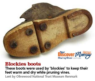 Blockies boots