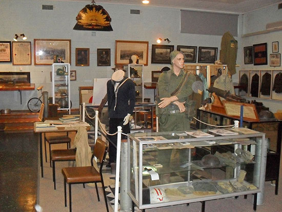 Waikerie RSL Museum - Discover Murray River War Trail