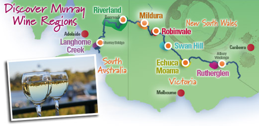 Murray River Wine Regions